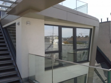 Fensterportal HolzAlu Sonderform